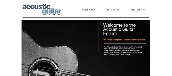 General Acoustic Guitar Forum