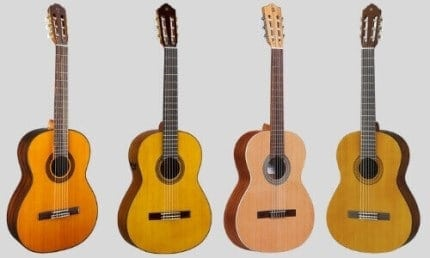 Classical Guitar Body Shapes
