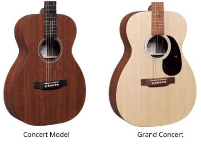 Guitar Shapes- Concert