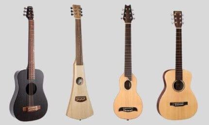 Guitar Body Shape Women: Mini Or Travel Guitar