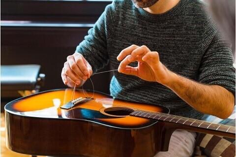 Replace Guitar Strings
