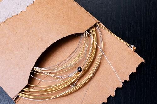 easiest acoustic guitar strings to play