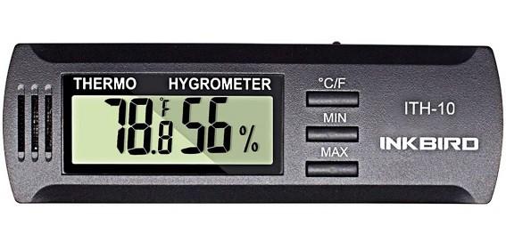 best mini hygrometer for guitar