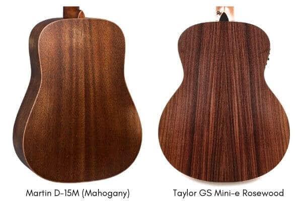 rosewood back and sides vs mahogany